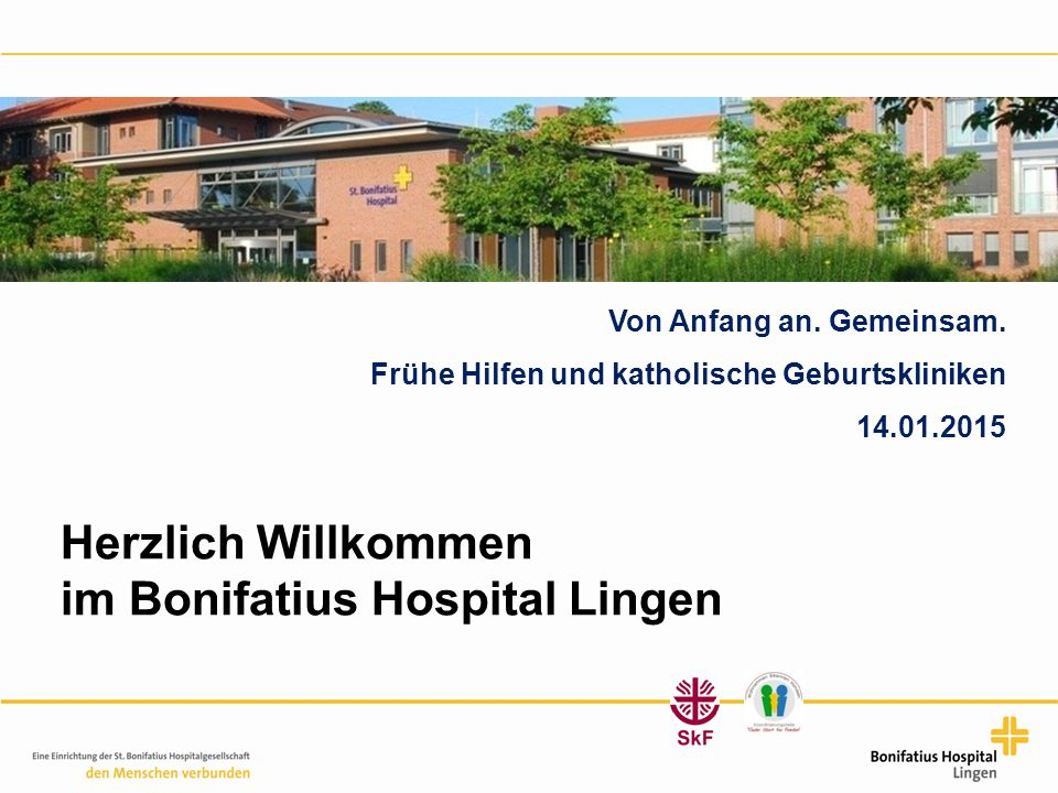 im Bonifatius Hospital Lingen