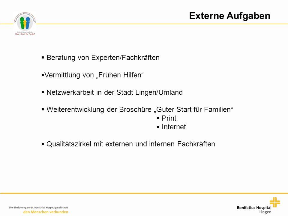 Externe Aufgaben Beratung von Experten/Fachkräften