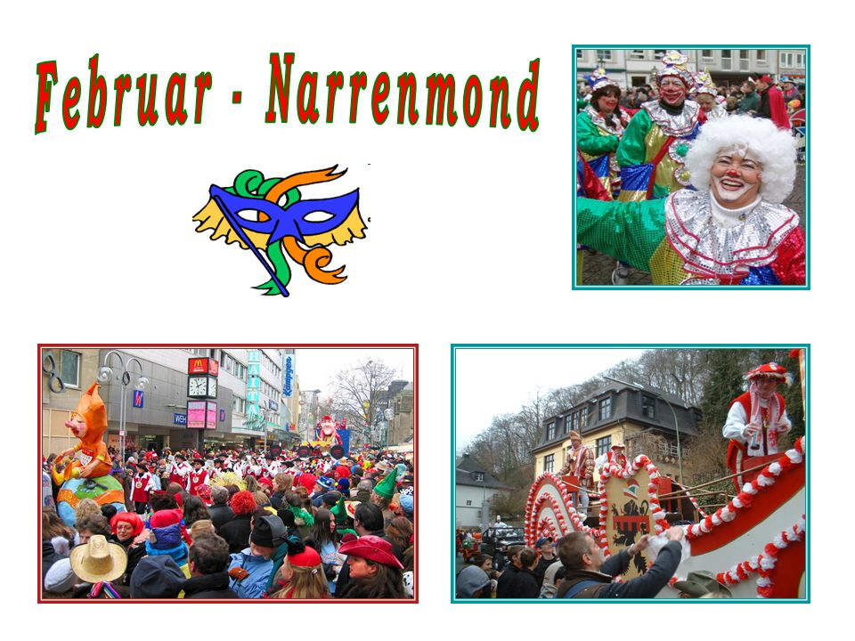Februar - Narrenmond
