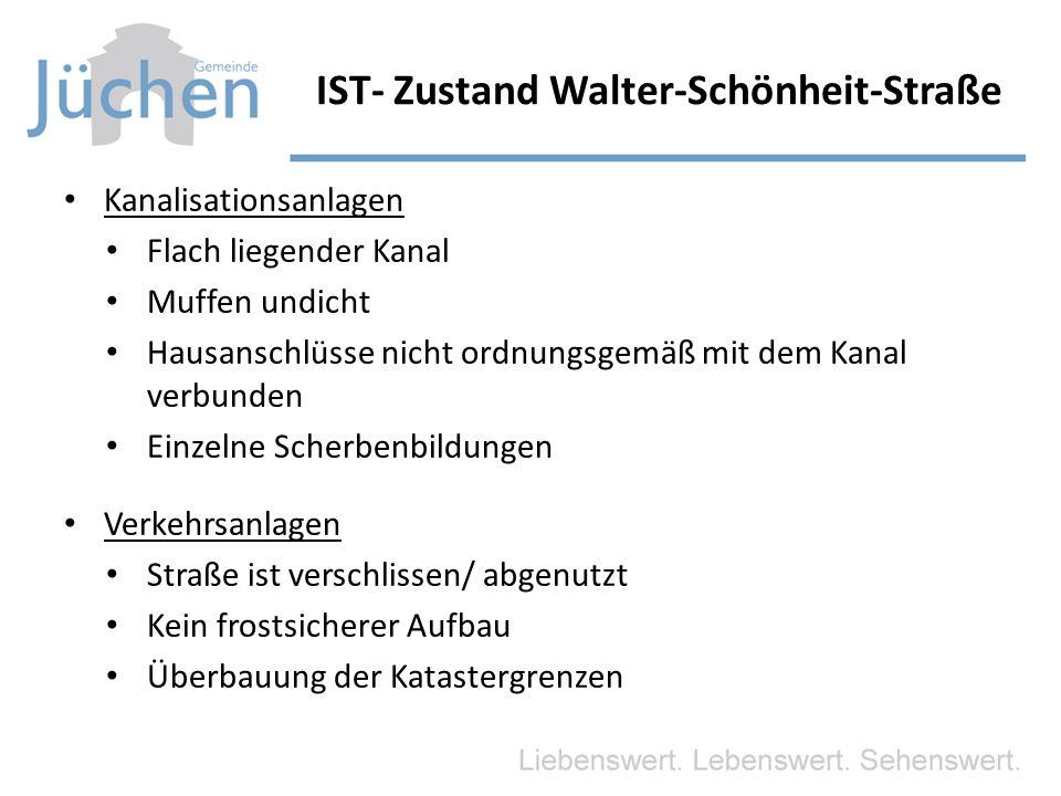 IST- Zustand Walter-Schönheit-Straße
