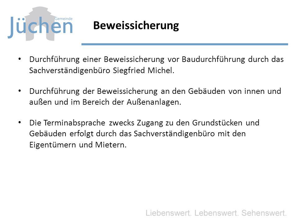 Beweissicherung Durchführung einer Beweissicherung vor Baudurchführung durch das Sachverständigenbüro Siegfried Michel.