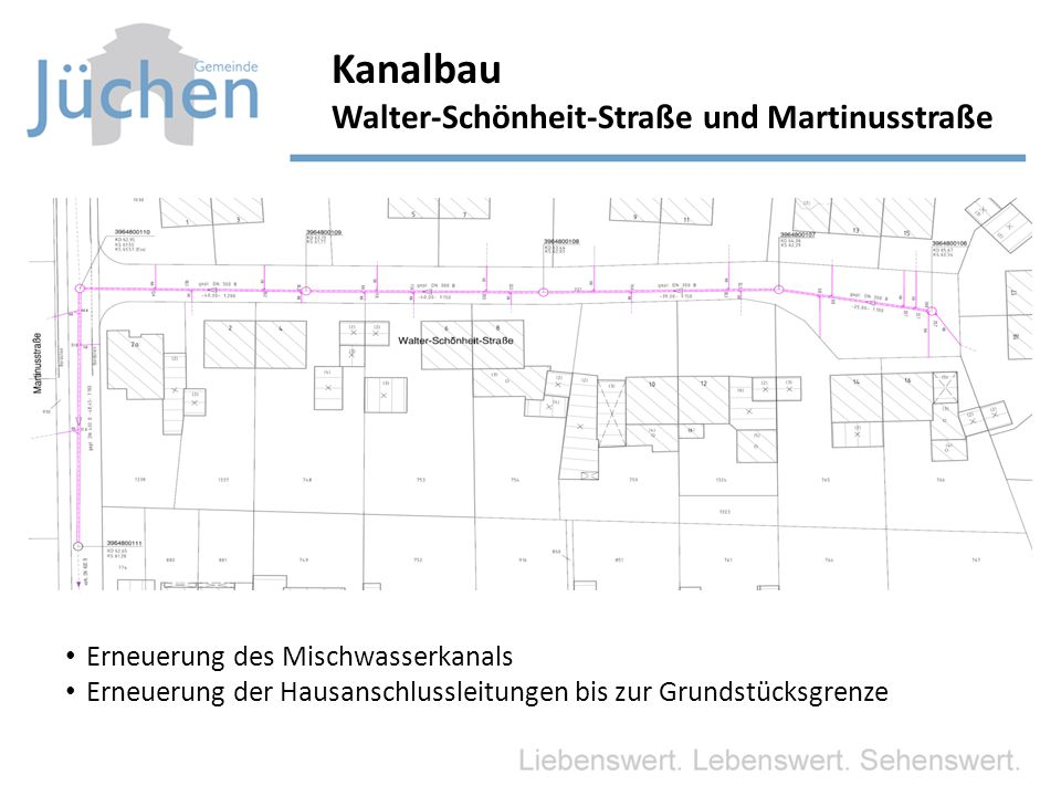 Kanalbau Walter-Schönheit-Straße und Martinusstraße