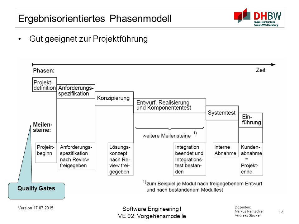 Ergebnisorientiertes Phasenmodell