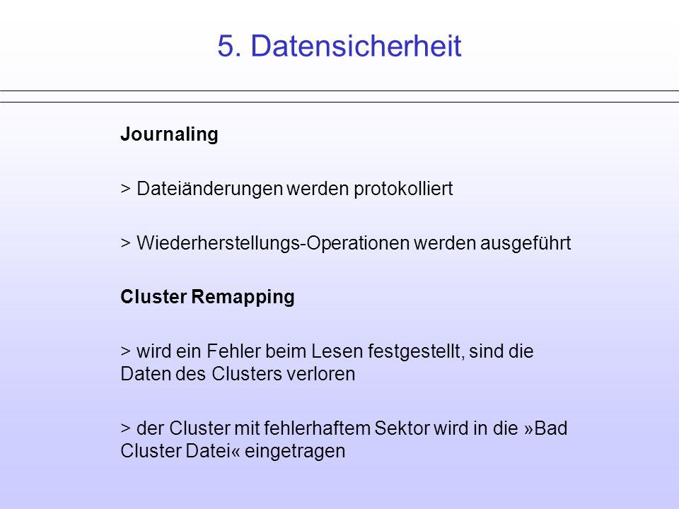 5. Datensicherheit Ende Journaling