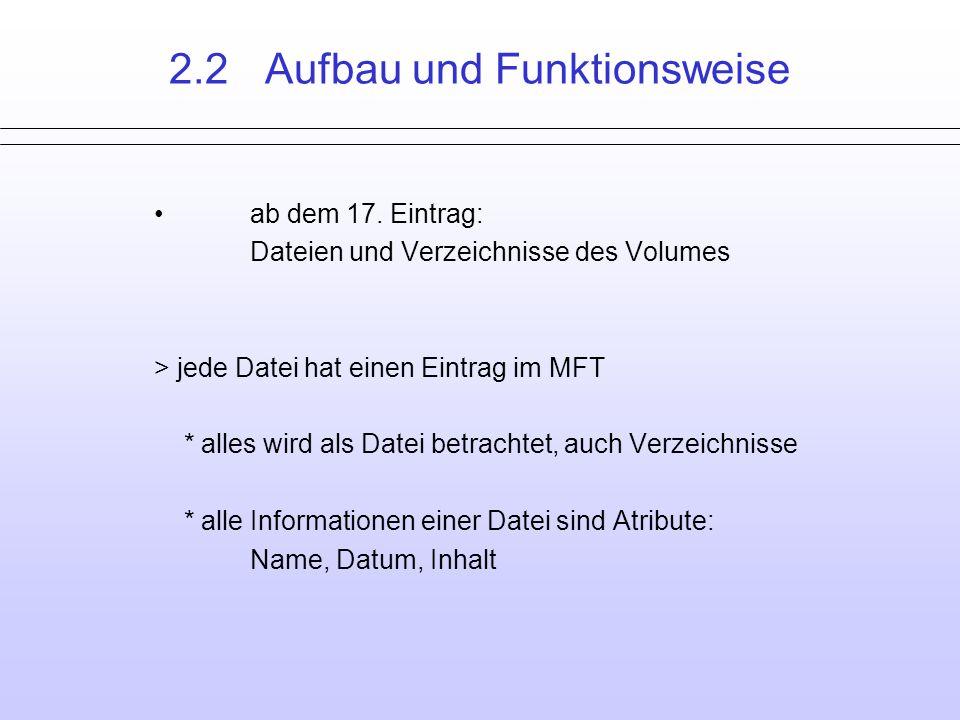 2.2 Aufbau und Funktionsweise