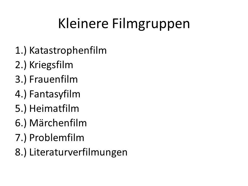 Kleinere Filmgruppen