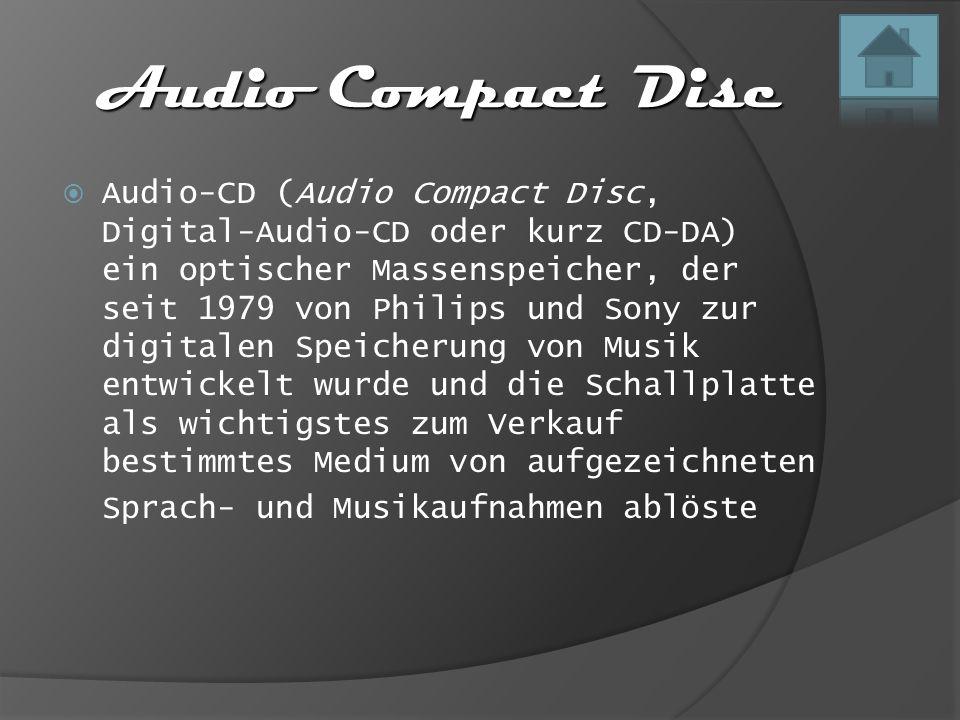 Audio Compact Disc