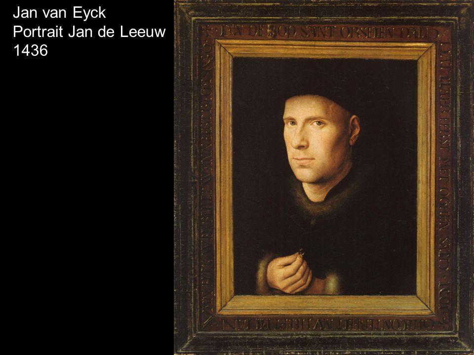 Jan van Eyck Portrait Jan de Leeuw 1436