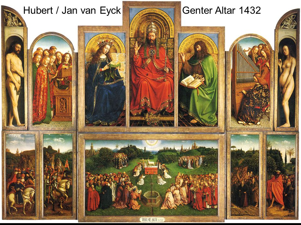 Hubert / Jan van Eyck Genter Altar 1432