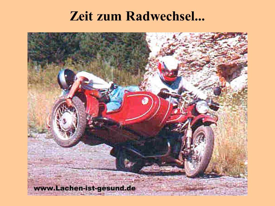 Zeit zum Radwechsel...