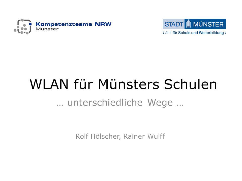 WLAN für Münsters Schulen