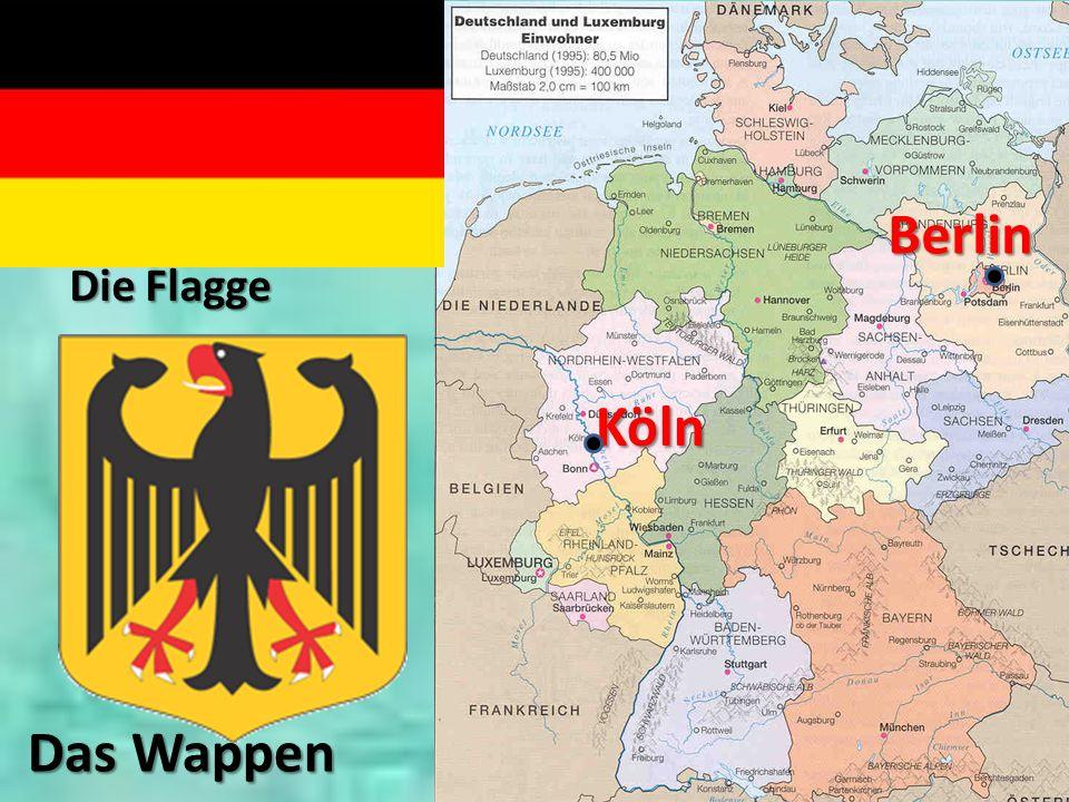 Berlin Die Flagge Köln Das Wappen