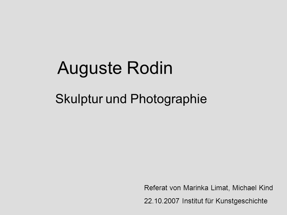 Skulptur und Photographie