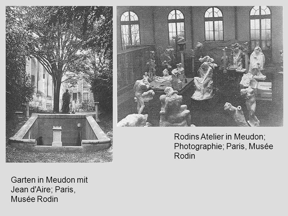 Rodins Atelier in Meudon; Photographie; Paris, Musée Rodin