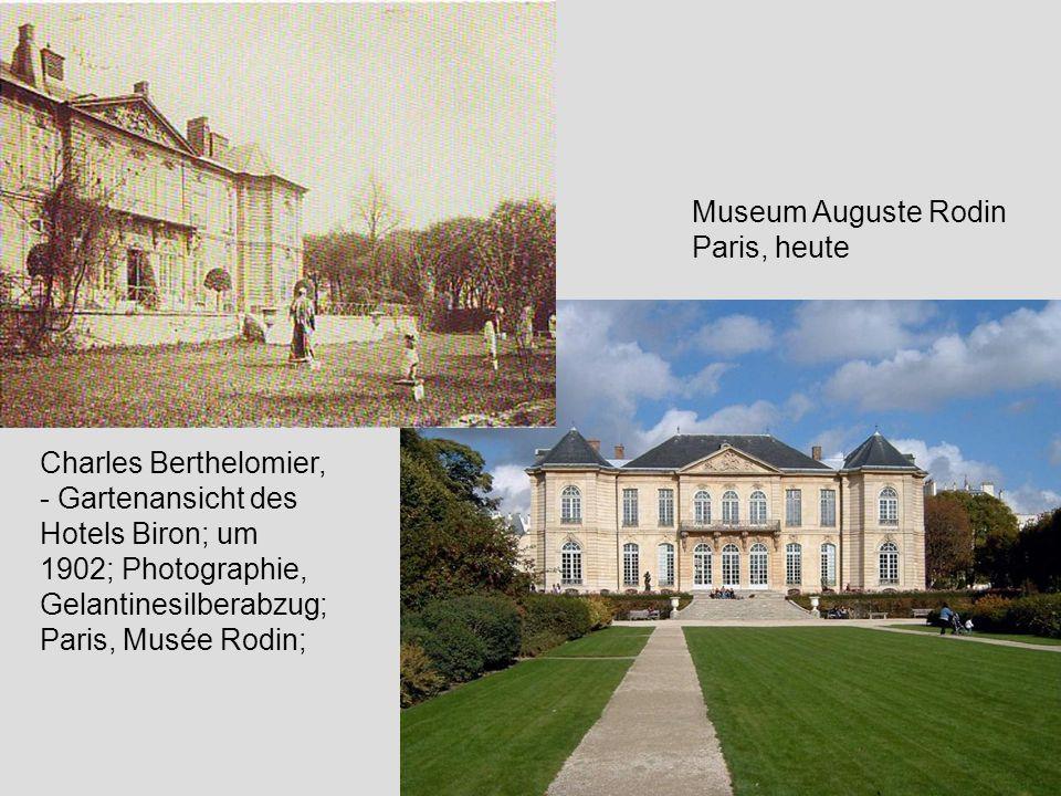 Museum Auguste Rodin Paris, heute