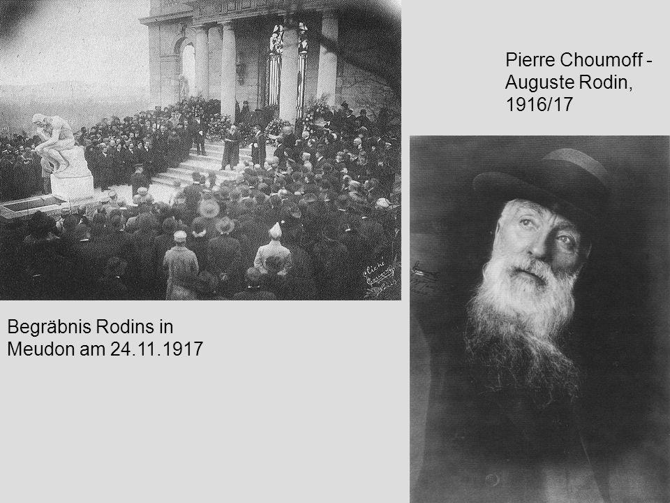 Pierre Choumoff - Auguste Rodin, 1916/17
