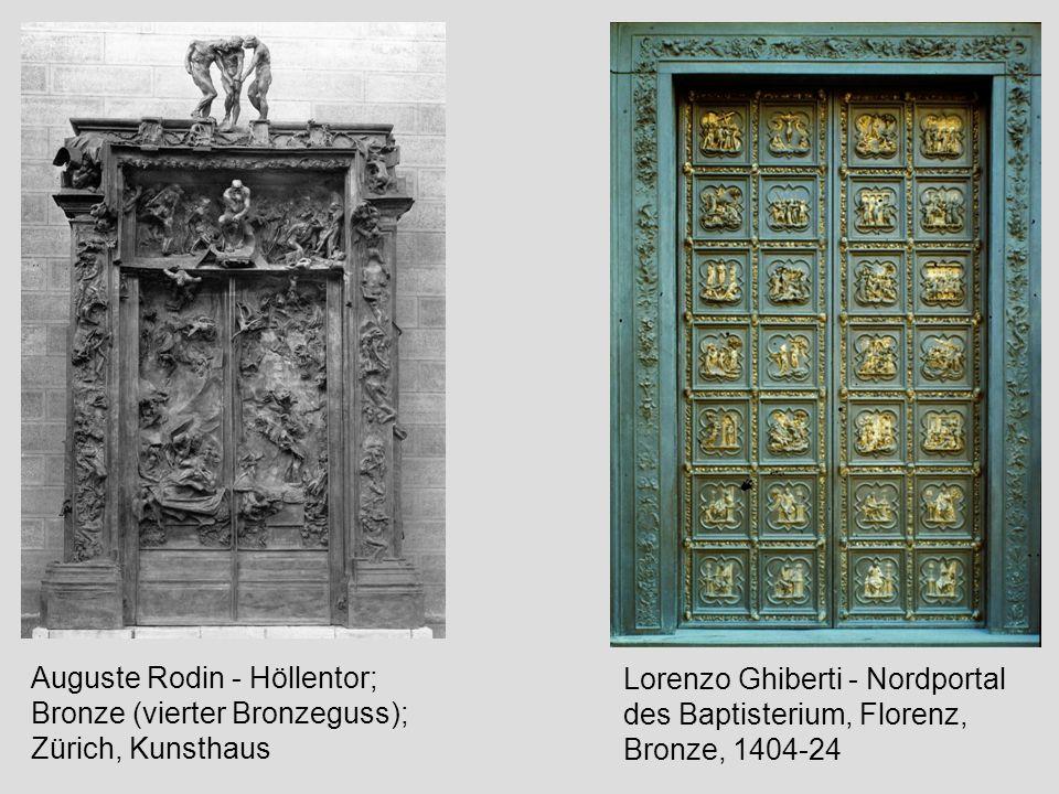 Auguste Rodin - Höllentor; Bronze (vierter Bronzeguss); Zürich, Kunsthaus