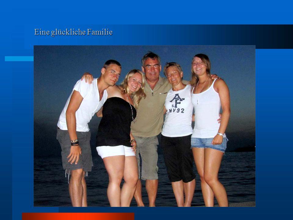Eine glückliche Familie