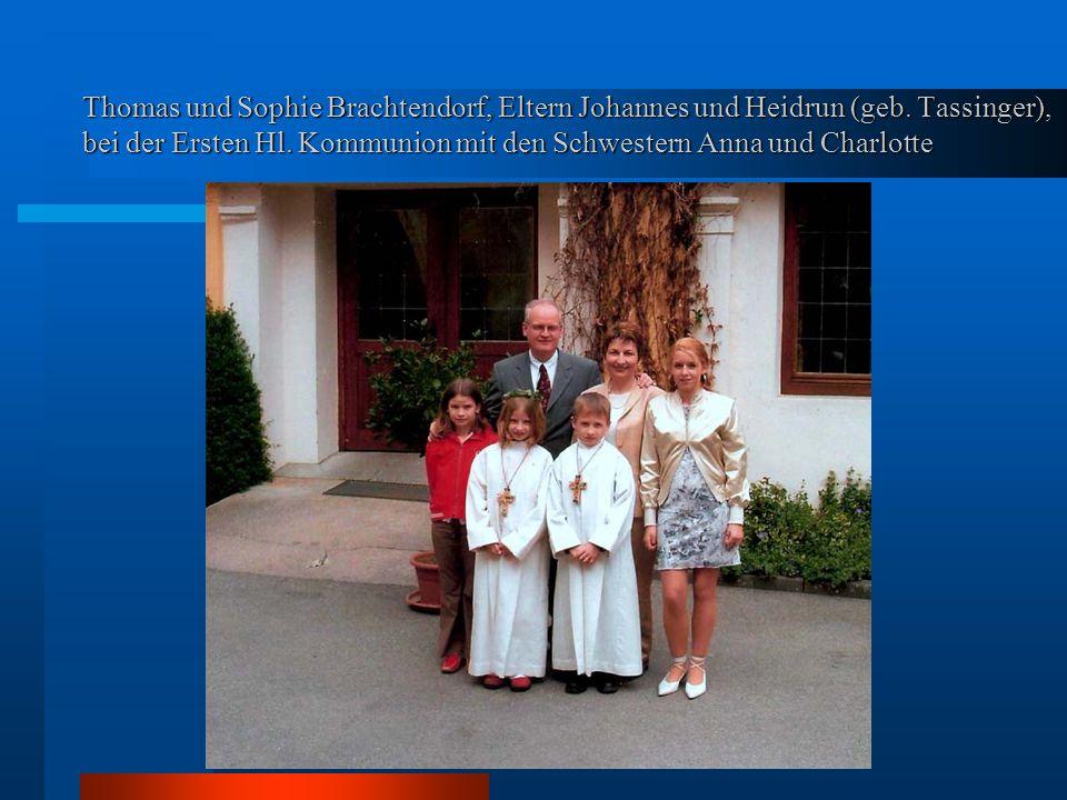 Thomas und Sophie Brachtendorf, Eltern Johannes und Heidrun (geb