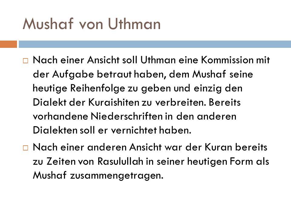 Mushaf von Uthman