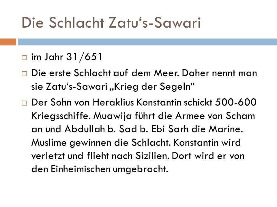 Die Schlacht Zatu's-Sawari