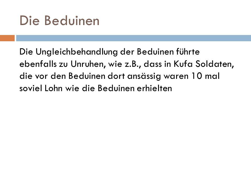 Die Beduinen