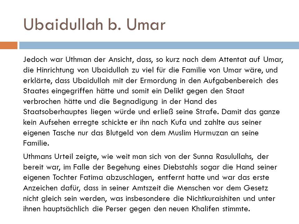 Ubaidullah b. Umar