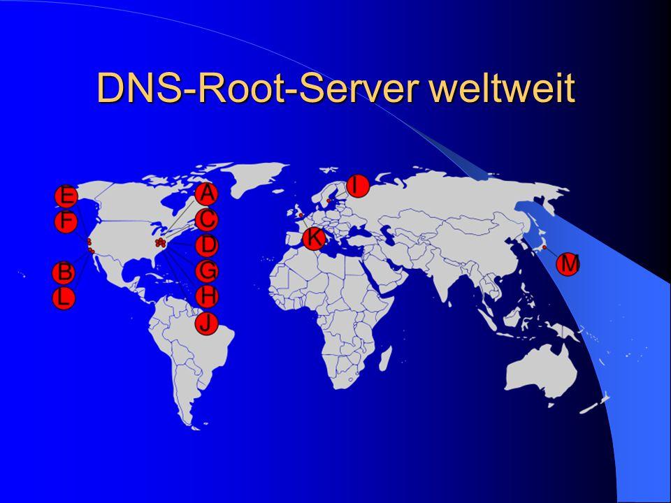 DNS-Root-Server weltweit