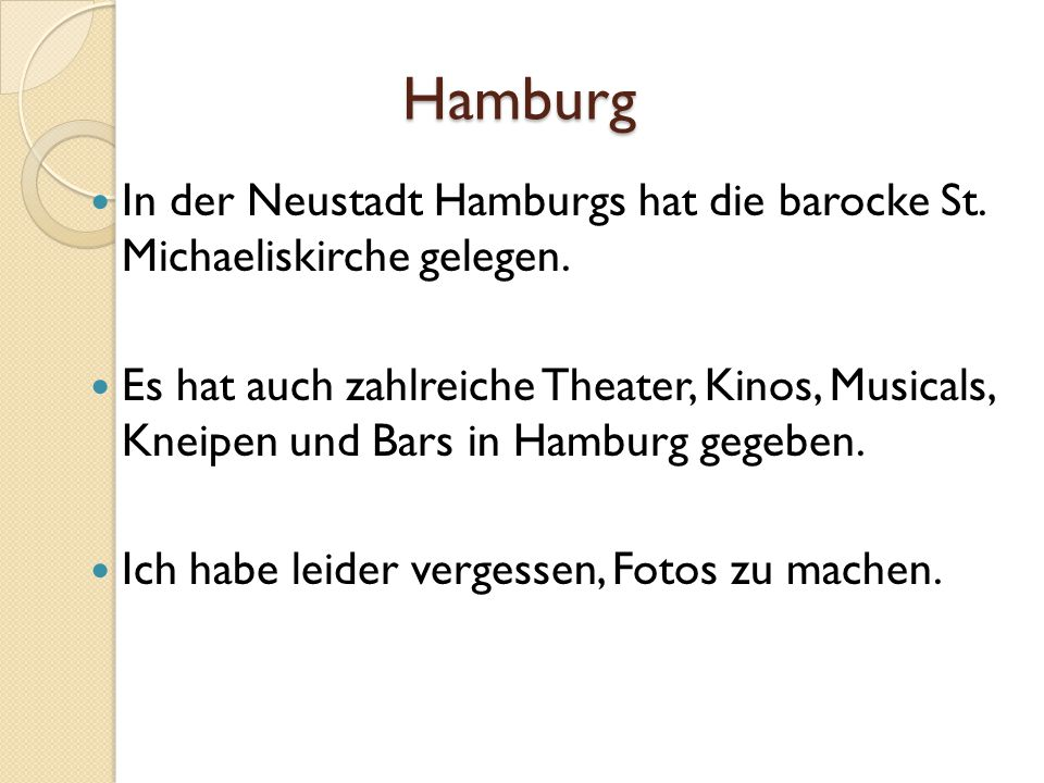 Hamburg In der Neustadt Hamburgs hat die barocke St. Michaeliskirche gelegen.