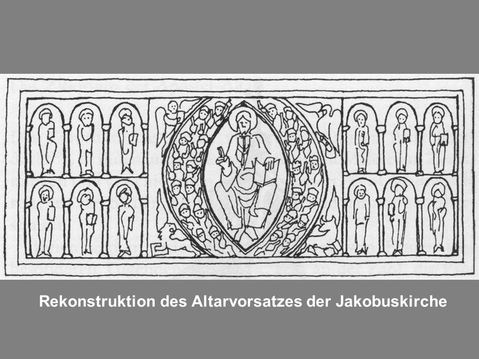 Rekonstruktion des Altarvorsatzes der Jakobuskirche