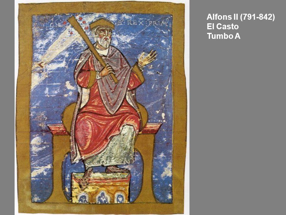 Alfons II (791-842) El Casto Tumbo A