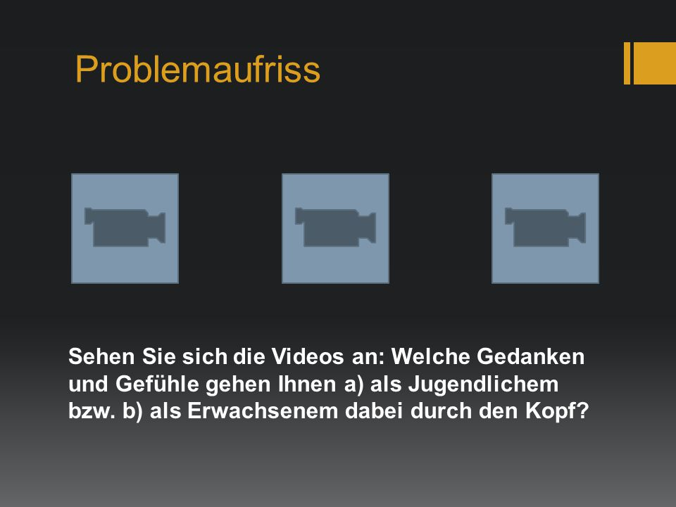Problemaufriss
