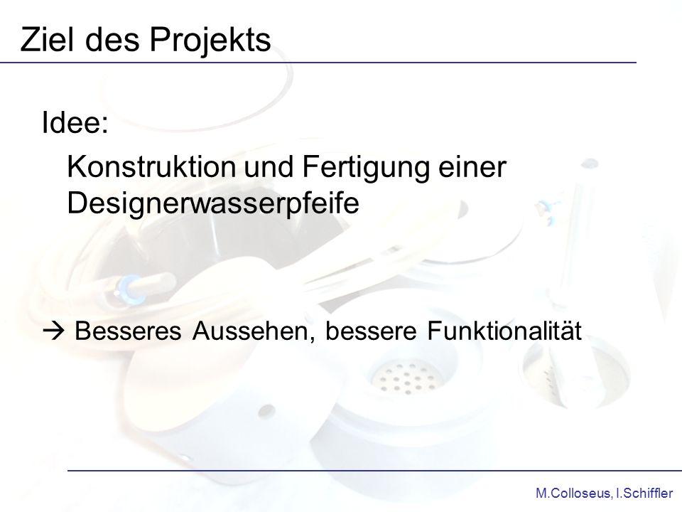 Ziel des Projekts Idee: