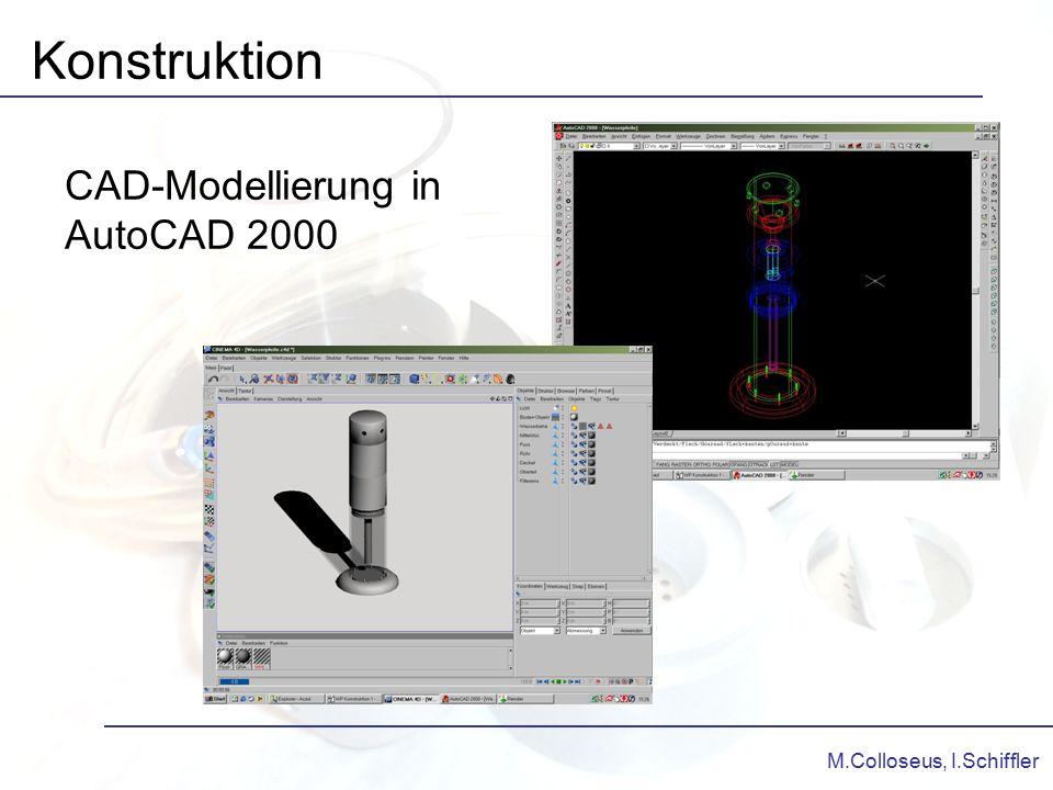 Konstruktion CAD-Modellierung in AutoCAD 2000