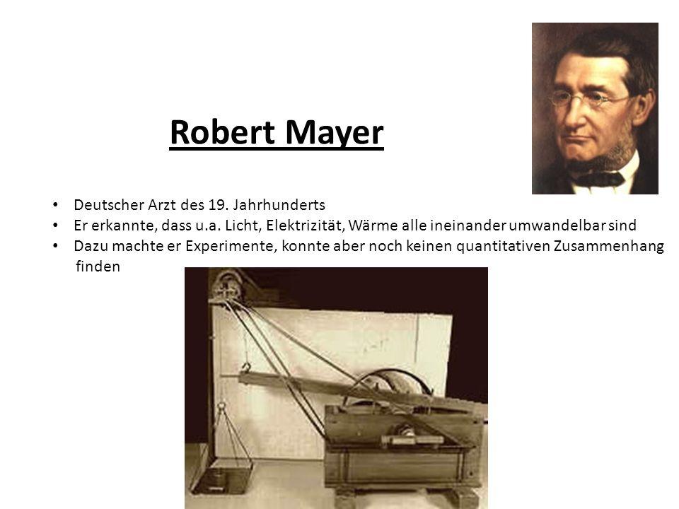 Robert Mayer Deutscher Arzt des 19. Jahrhunderts