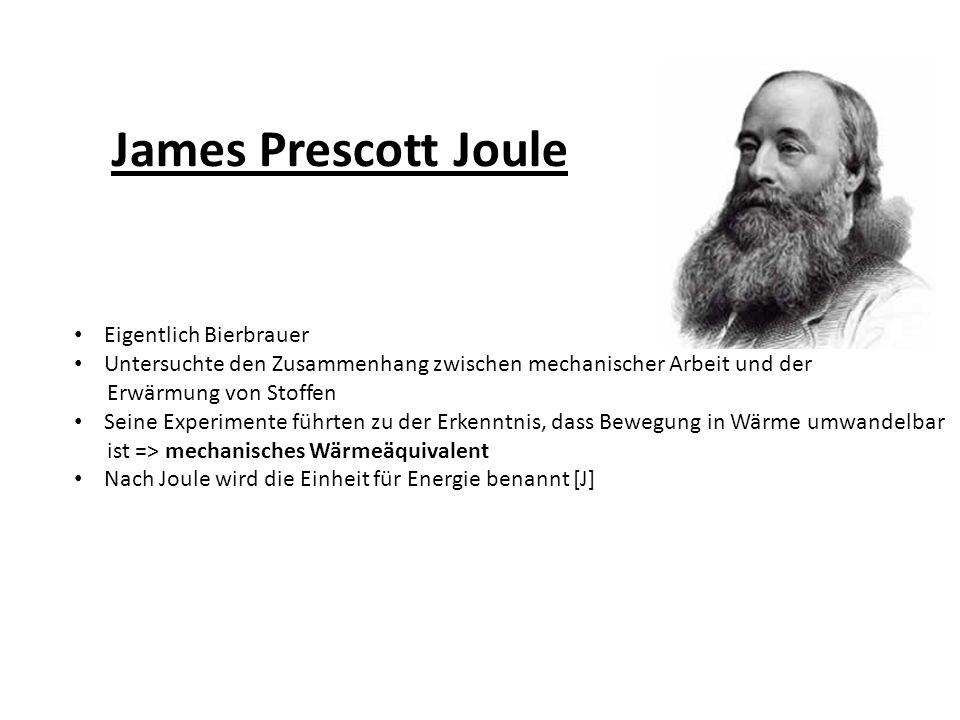 James Prescott Joule Eigentlich Bierbrauer