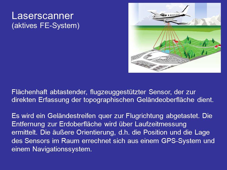 Laserscanner (aktives FE-System)
