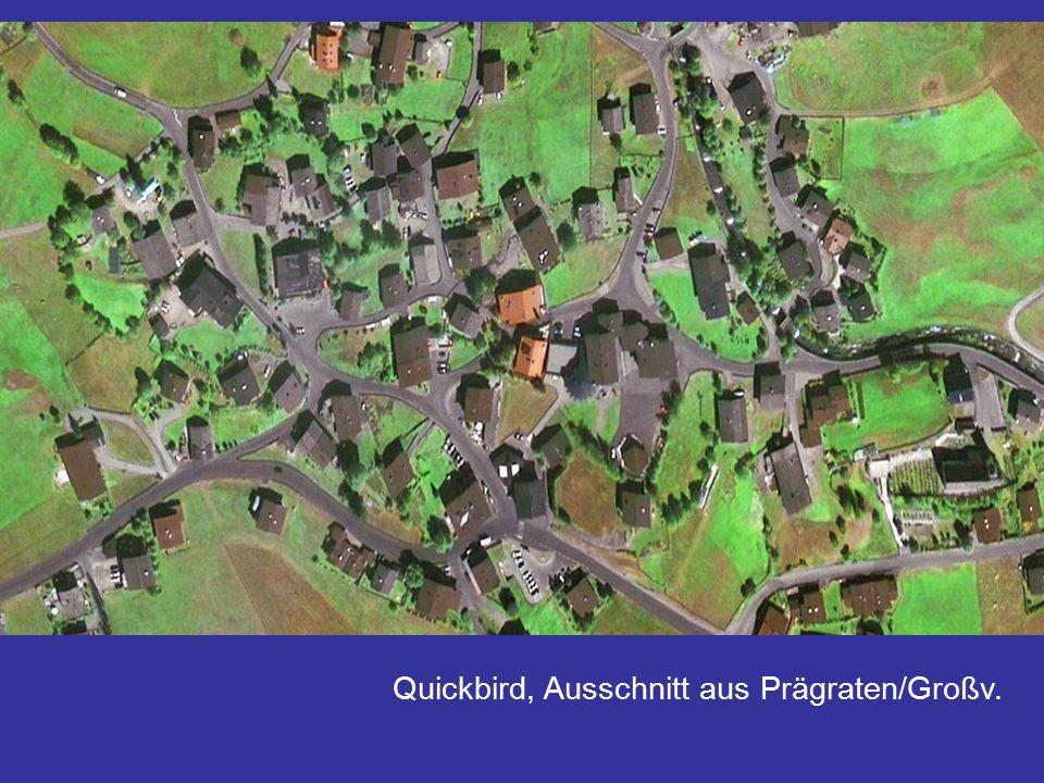 Quickbird, Ausschnitt aus Prägraten/Großv.