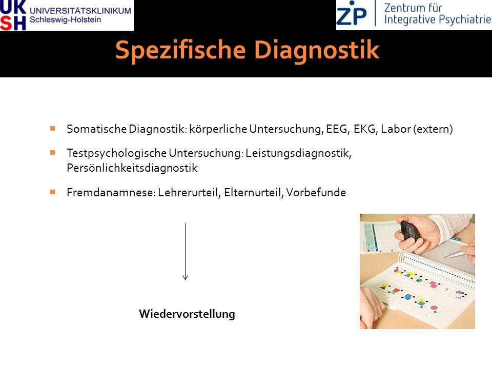 Spezifische Diagnostik