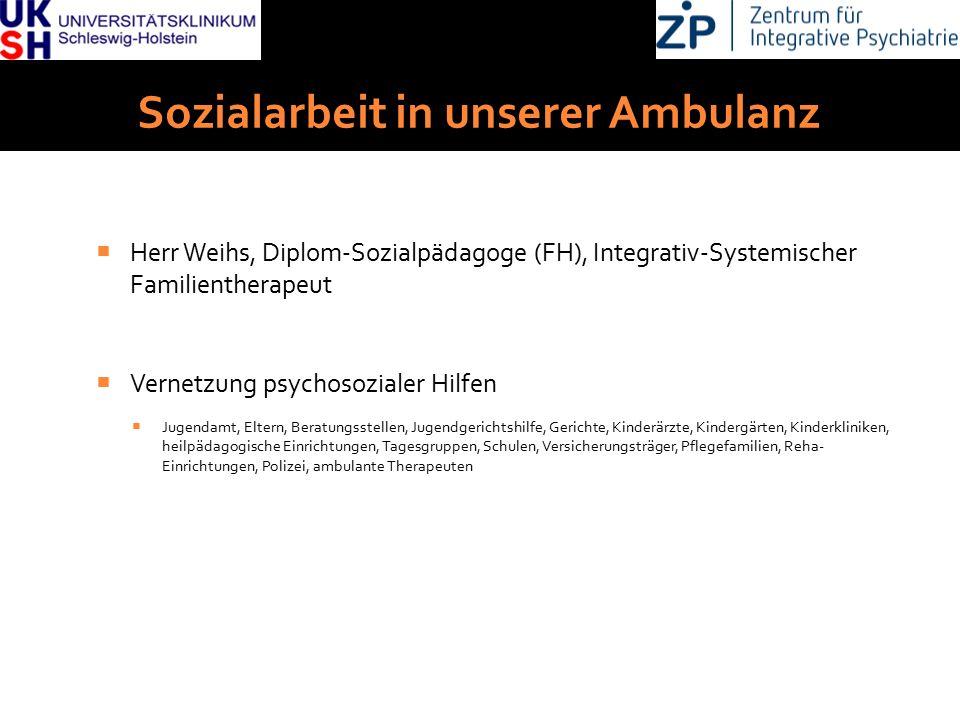 Sozialarbeit in unserer Ambulanz