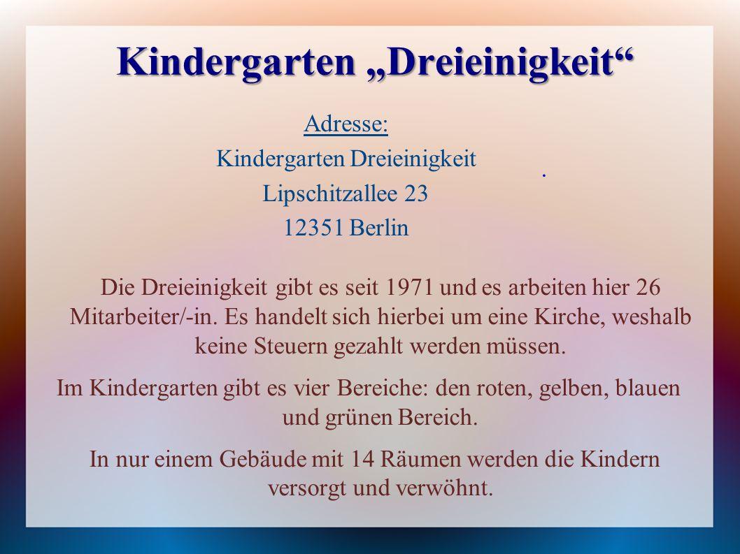 """Kindergarten """"Dreieinigkeit"""