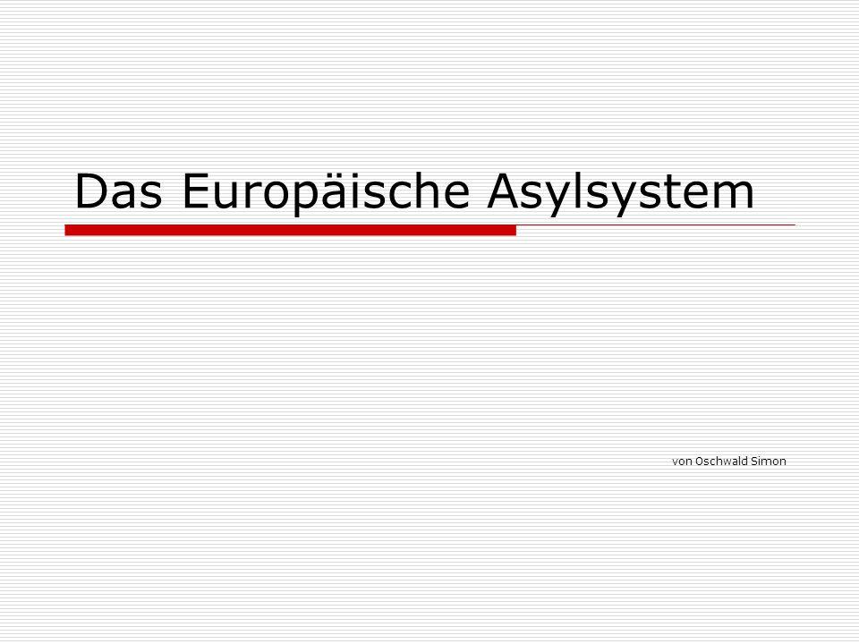 Das Europäische Asylsystem