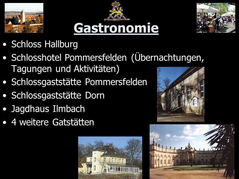 Gastronomie Schloss Hallburg