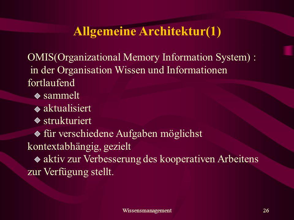 Allgemeine Architektur(1)