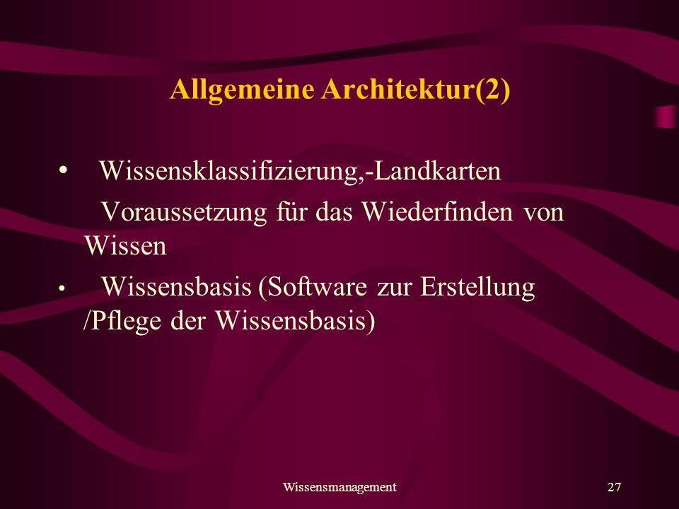 Allgemeine Architektur(2)