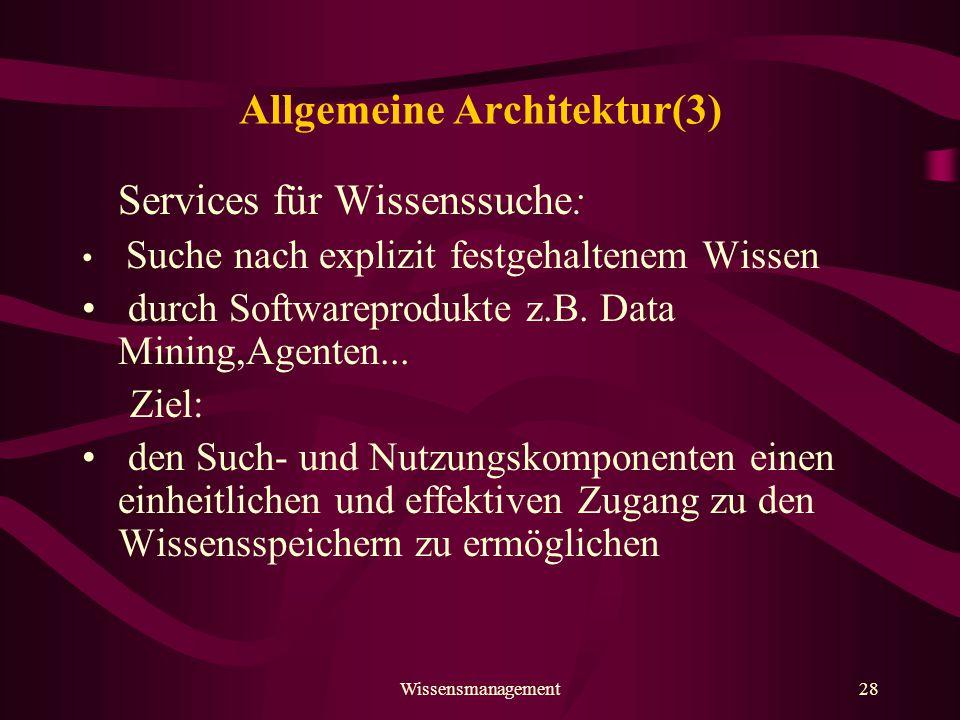 Allgemeine Architektur(3)