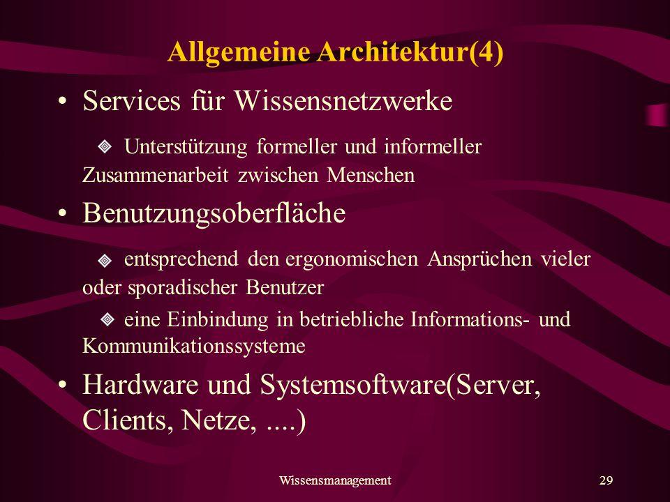 Allgemeine Architektur(4)