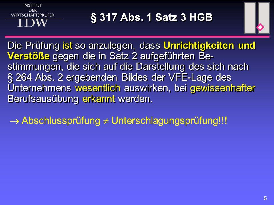 § 317 Abs. 1 Satz 3 HGB