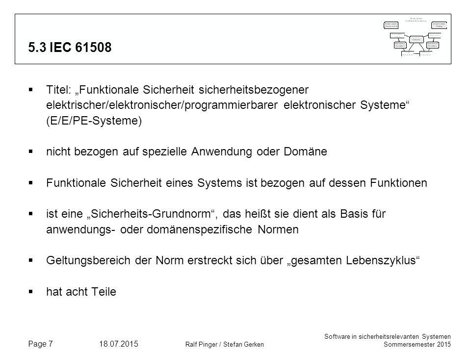 5.3 IEC 61508