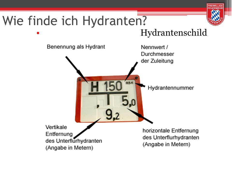 Wie finde ich Hydranten